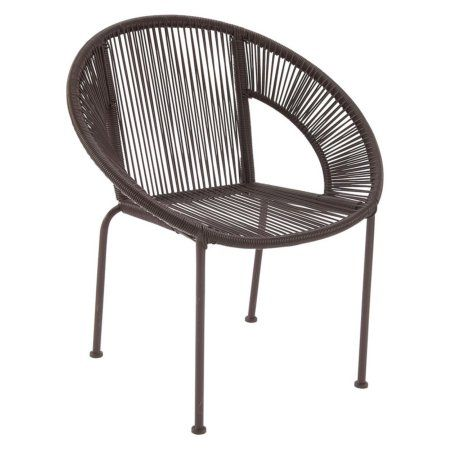 Awesome Decmode Outdoor Lounge Chair Products Accent Chairs Machost Co Dining Chair Design Ideas Machostcouk