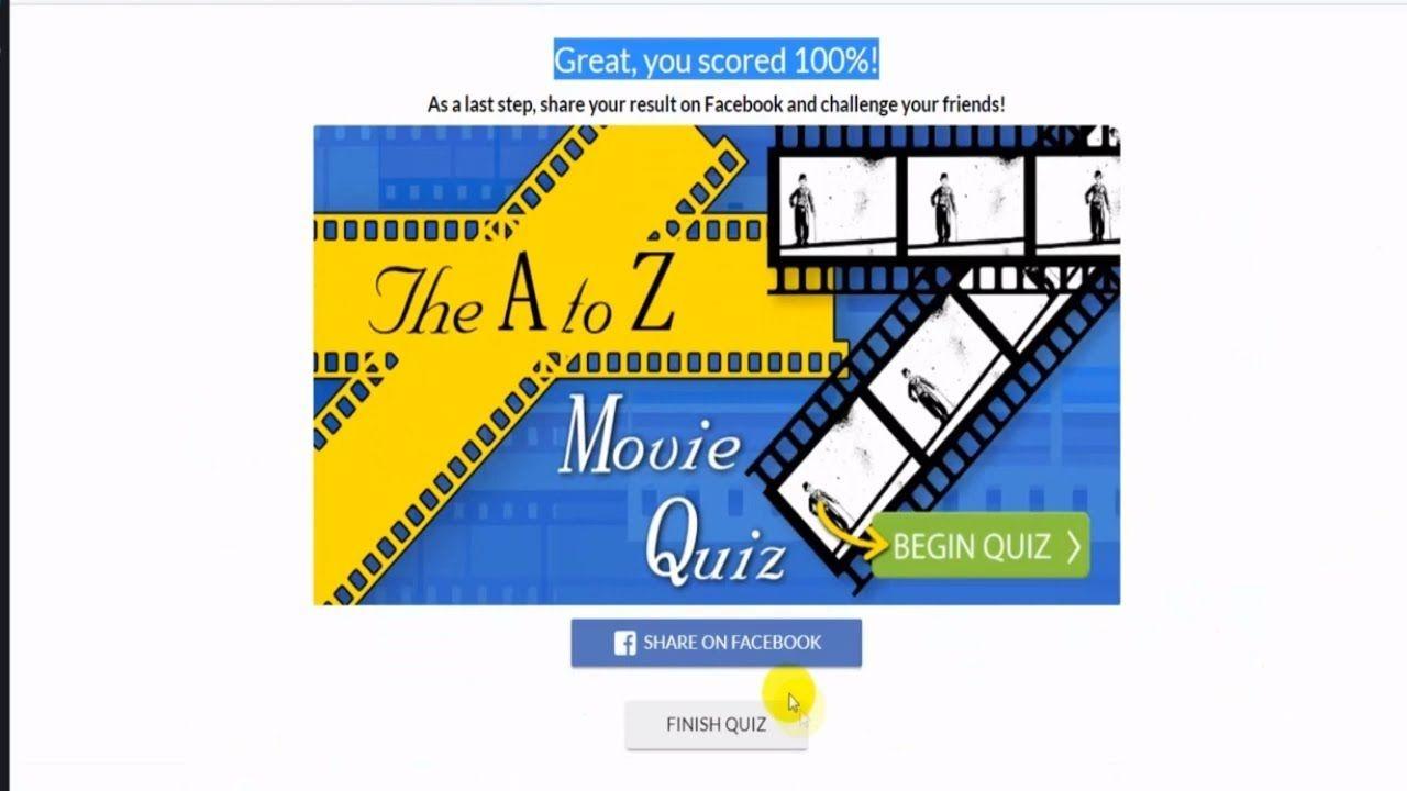 The A to Z Movie Quiz answers Gimmemore 100% score   Digicoinworld