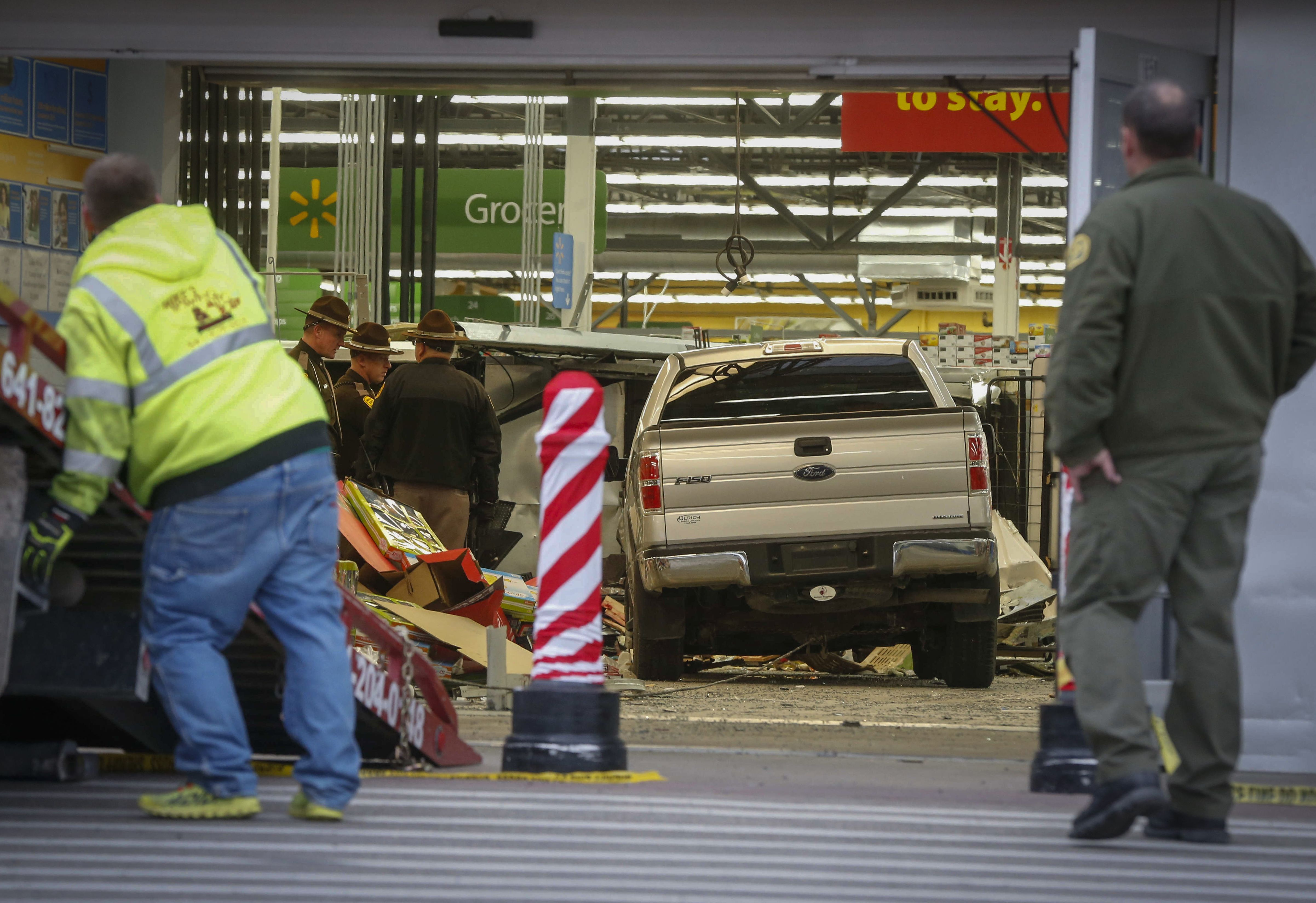 Truck Crashes into WalMart, Causing Fatalities and