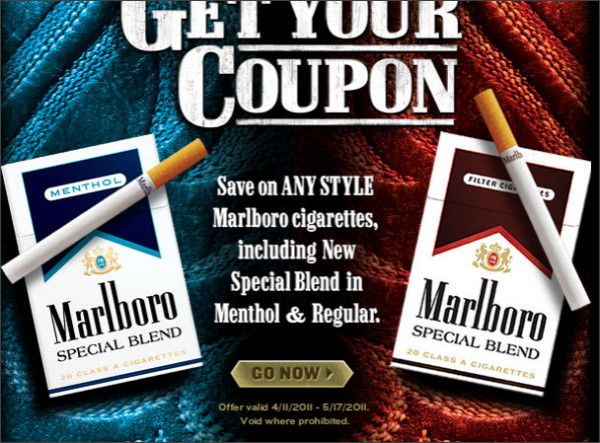 Duty free cigarettes Marlboro from Jersey