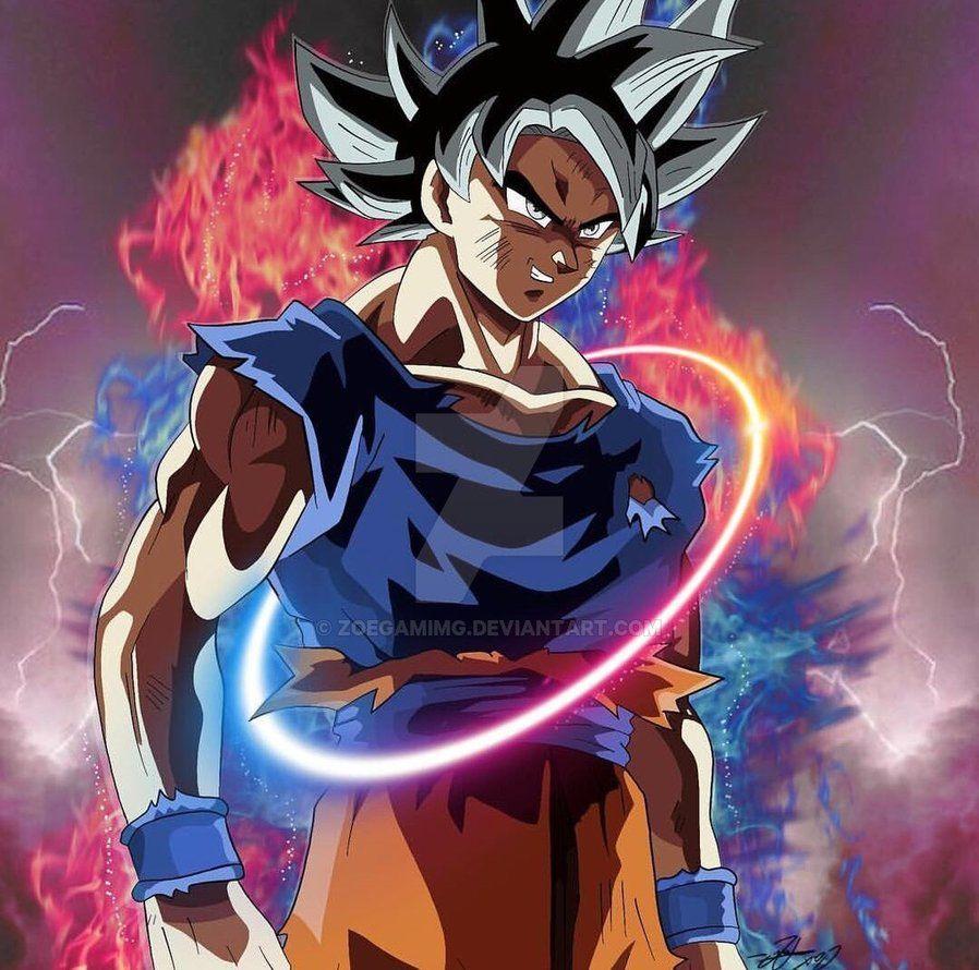 Goku Limit Breaker By Zoegamimg Deviantart Com On Deviantart Anime Dragon Ball Super Dragon Ball Dragon Ball Super Manga