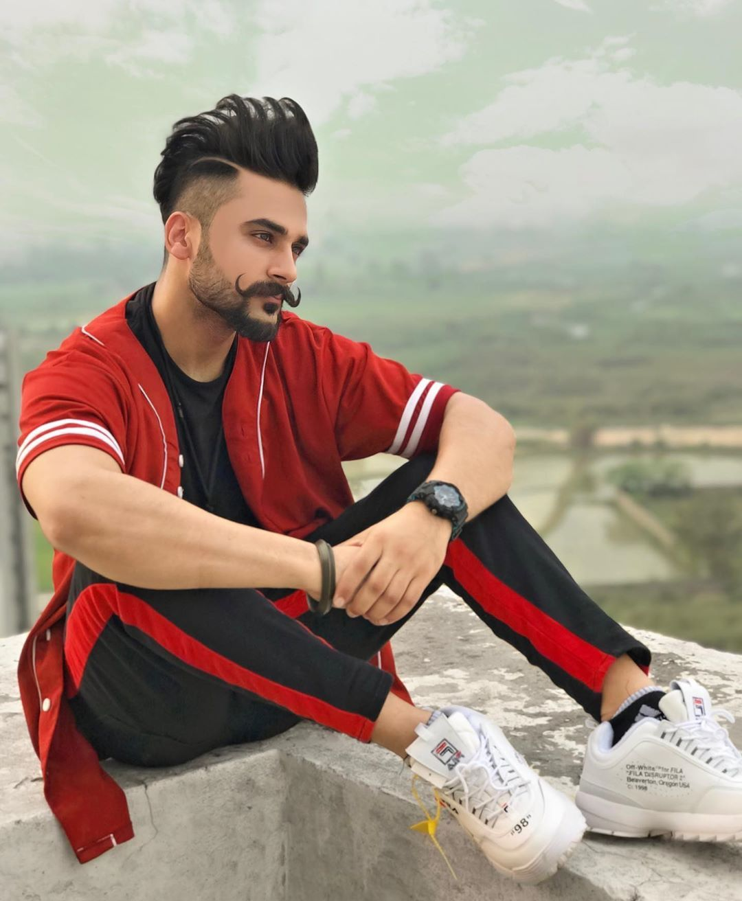 Image May Contain One Or More People Beard And Outdoor Boys Long Hairstyles Beard Styles For Boys Beard Styles