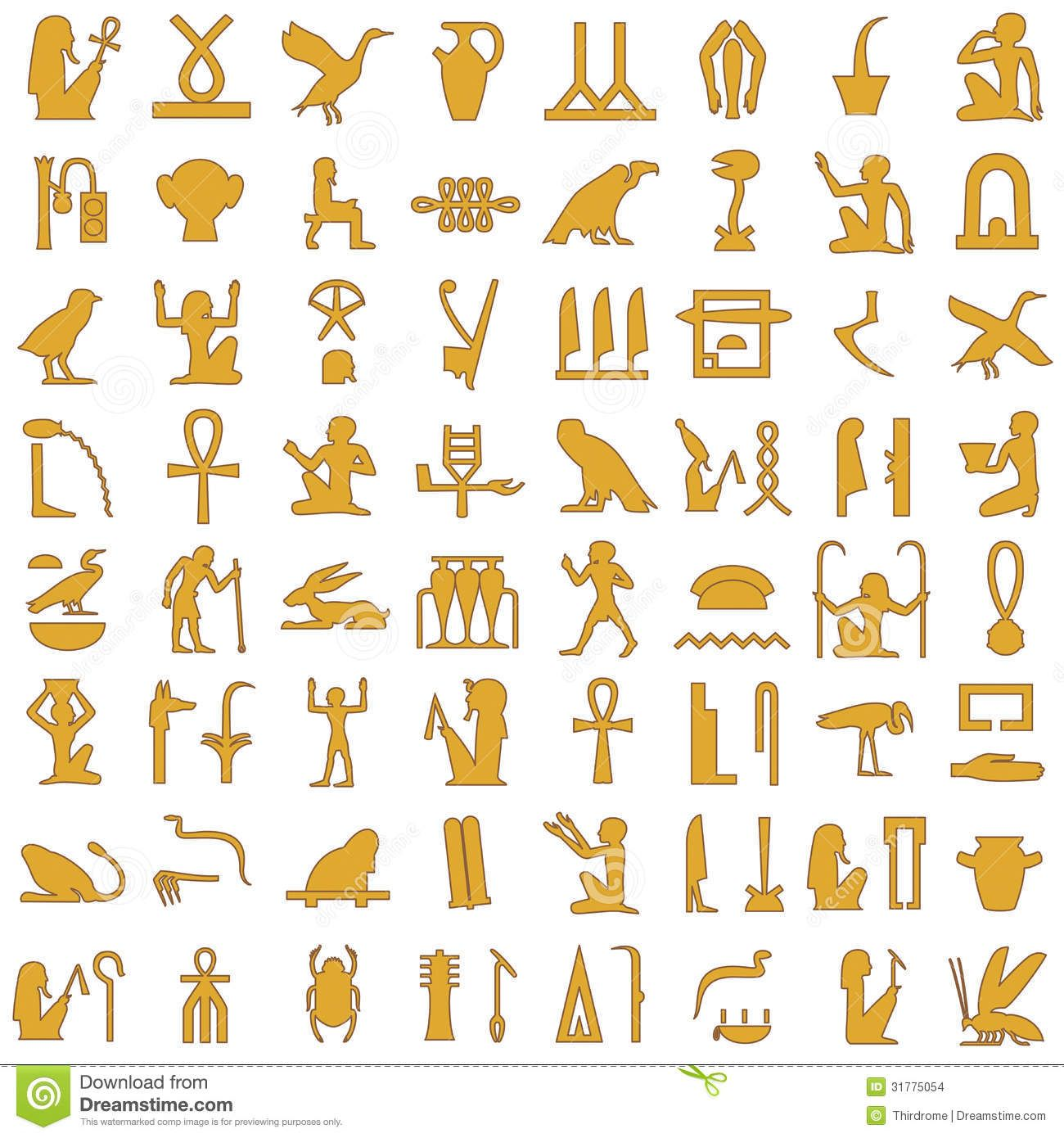 Gyptische zeichen google suche i love ich liebe photo about a collection of ancient egyptian symbolsrious egyptian hieroglyphs buycottarizona Images