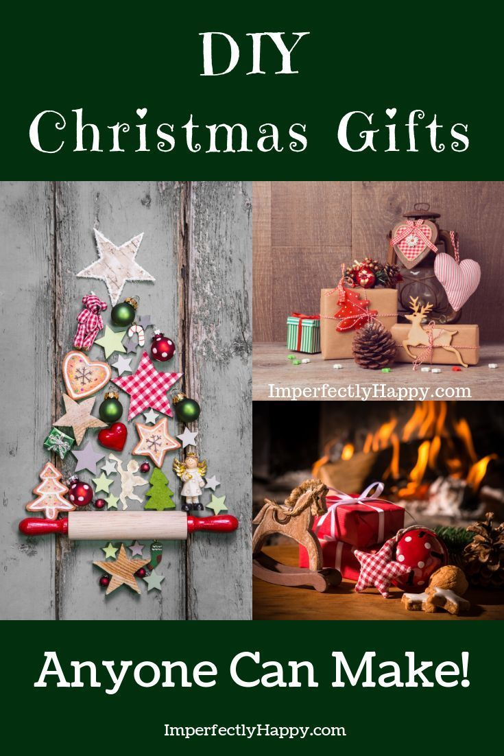 DIY Christmas Gifts Anyone Can Make | Christmas Crafts | Pinterest ...