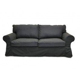 248 ikea ektorp sleeper sofa slipcover ektorp sofa bed cover rh pinterest com ektorp sofa bed cover canada ektorp sofa bed cover white
