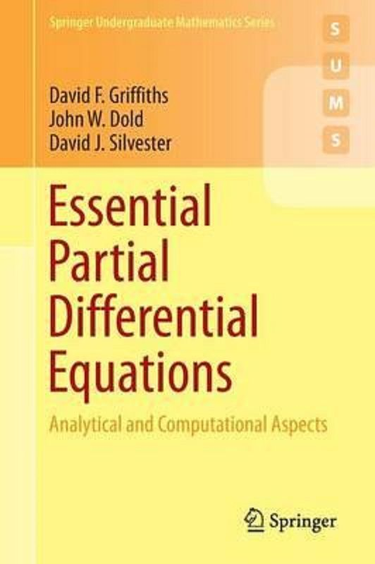 essential partial differential equations analytical and rh pinterest com Partial Differential Equations Examples Partial Differential Equations Examples