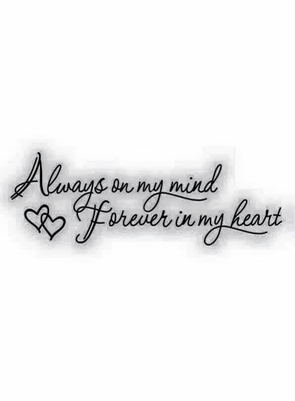 Want to add this to my mom's memorial tattoo... There isn ...