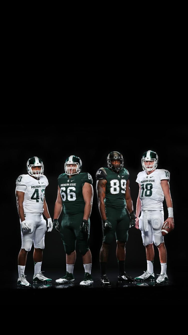 Spartan Sports Page On Twitter Michigan State Football Michigan State Football Uniforms