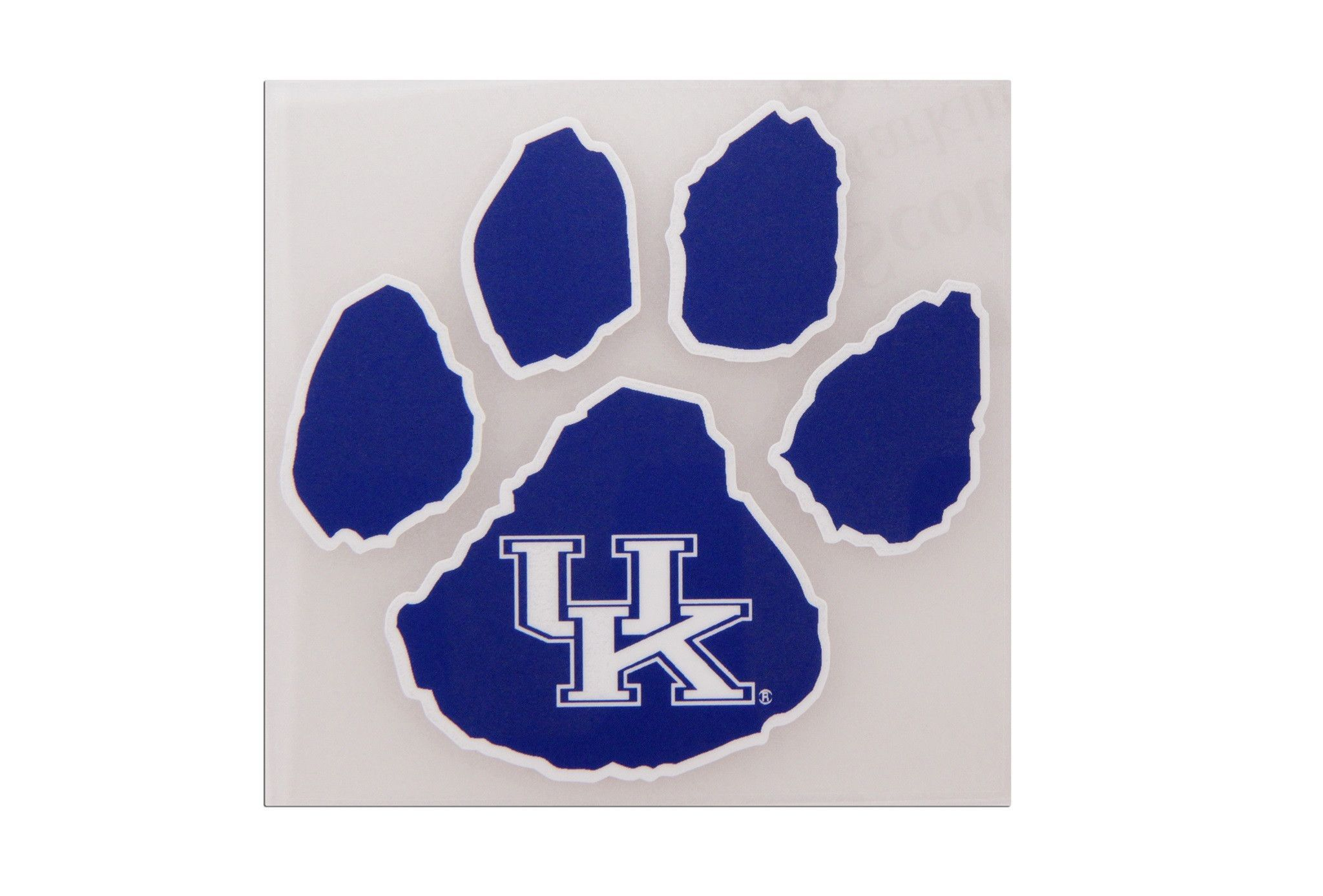 University Of Kentucky Wildcats Paw Decal