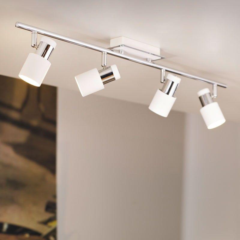 Davida 4 Light LED Spotlight Bar   Lighting Direct. Davida 4 Light LED Spotlight Bar   Lighting Direct   Overhead and