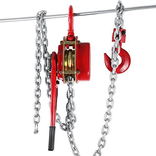 OrangeA 3 Ton Lever Block Chain Hoist 20FT Ratchet Lever Chain Hoist