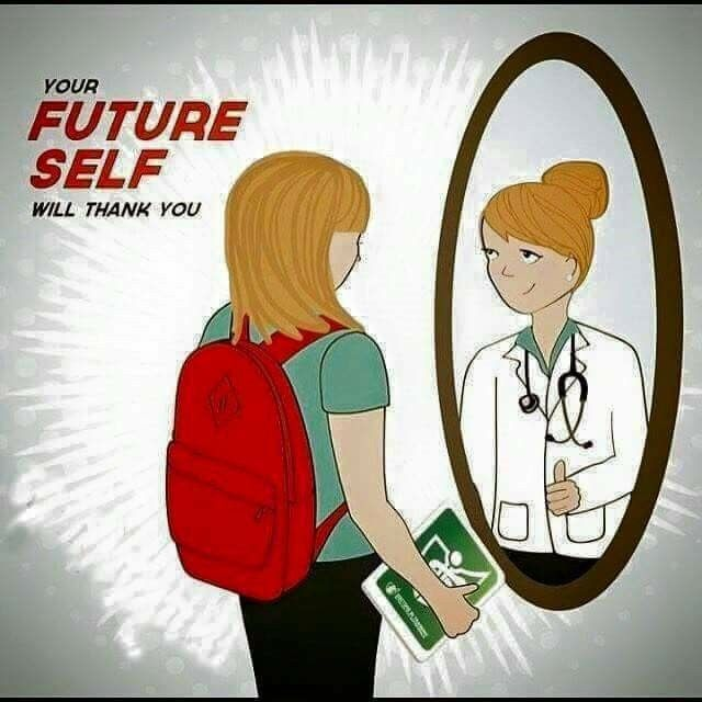 Your future self will thank you #study // follow us