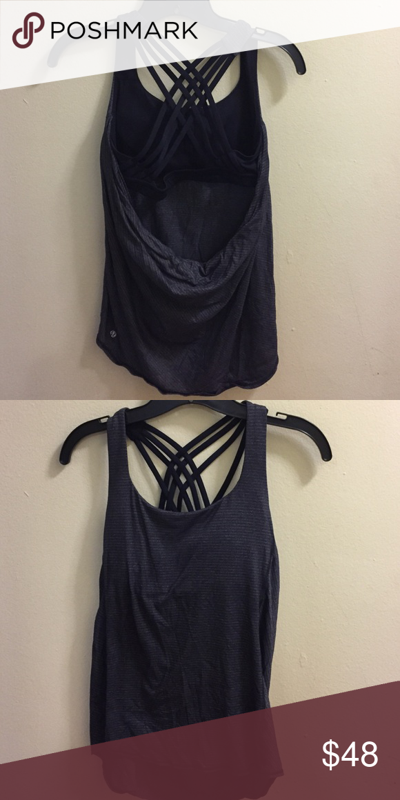 Lululemon work out too Size 6 Good condition! Worn a few times. No trades. Does not come with padding. lululemon athletica Tops