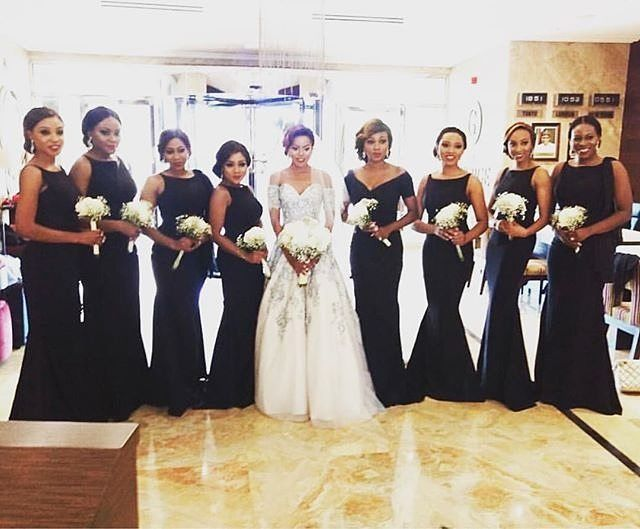 Well coordinated bridesmaids dresses by @peridot #bridesmaids #like4like #instabride #tko2016 #somethingperidot #instalove