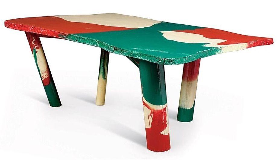 Sansone Table for Cassina / Gaetano Pesce, 1980