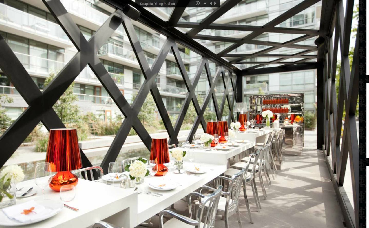 Scarpetta Dining Pavillion Restaurant And Bar Outdoor Dining Emco  9af605e372f2c3205282e6ee3fa932d0 203365739394207338. Outdoor Restaurant  Seating Ideas ...