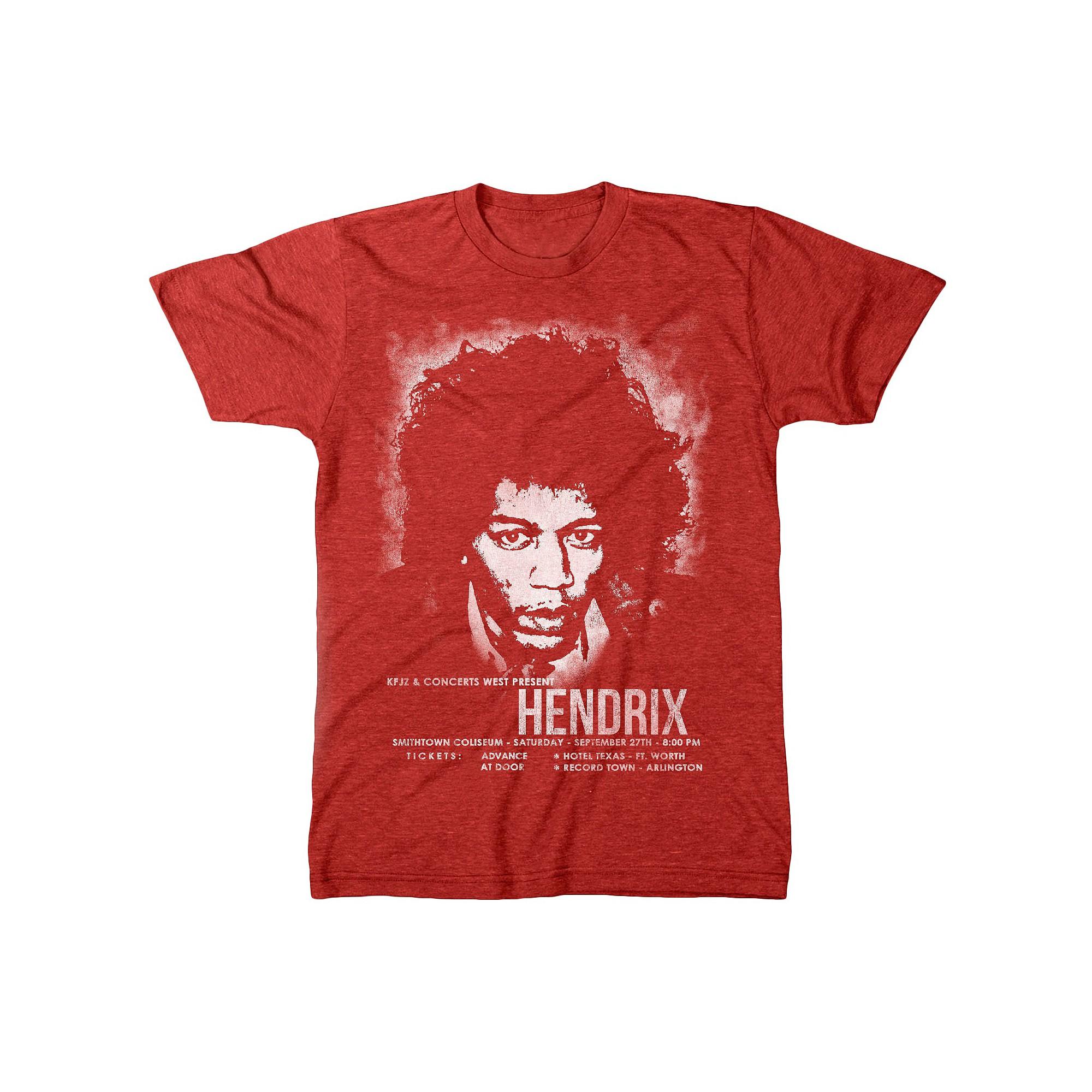 f551244431d Jimi Hendrix Men s T-Shirt Red Xxl