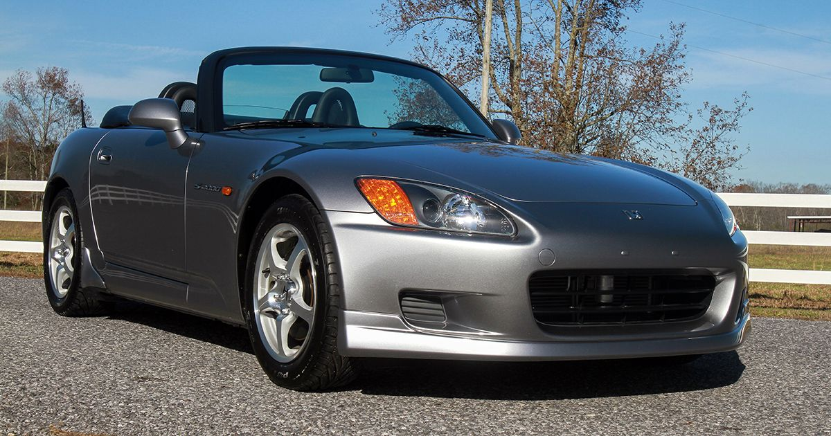 scottsdale auction preview this 2001 honda s2000 is powered by a rh pinterest com