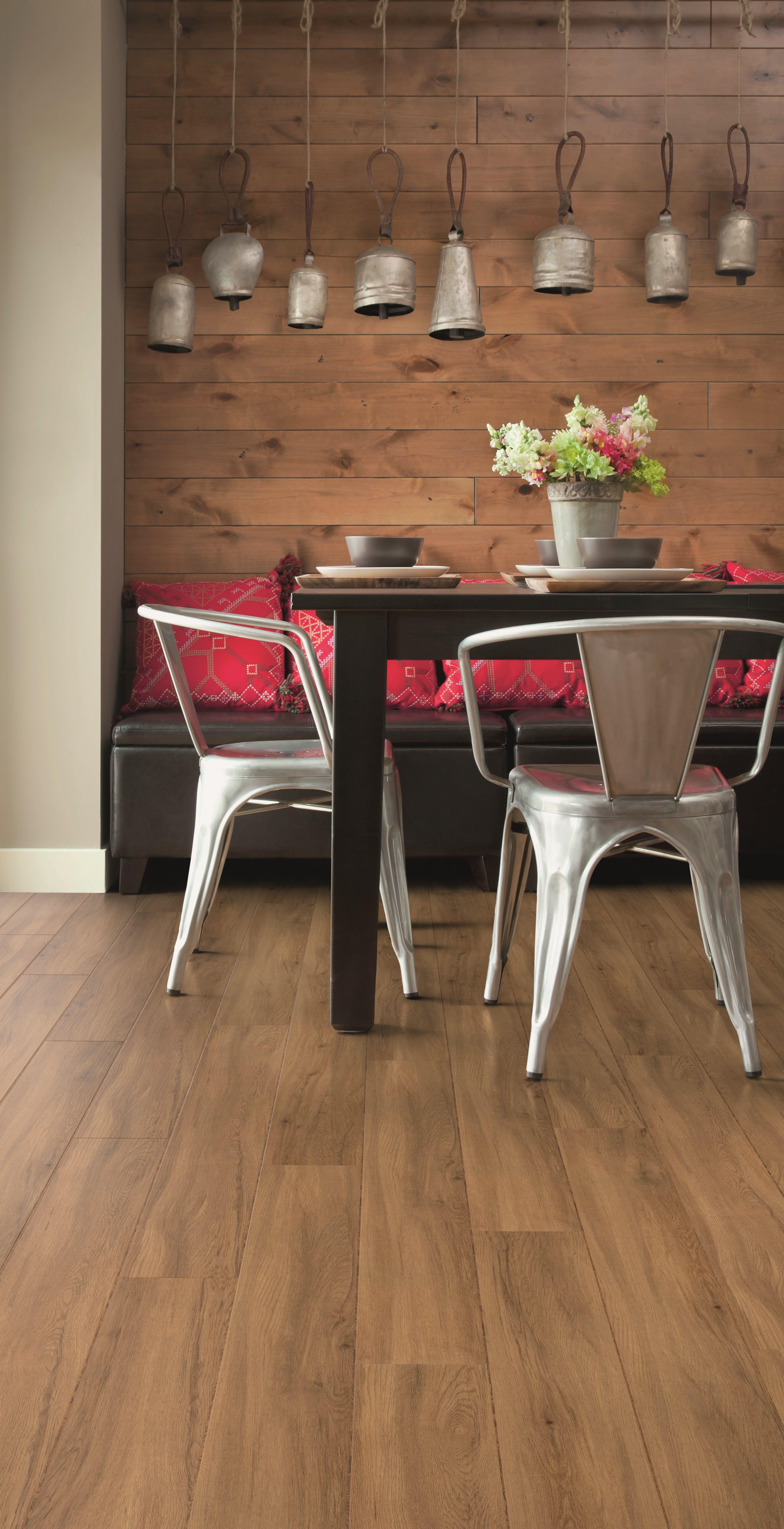 Fusion Flooring 1064 Honey Rich Oak Vinyl Plank Kitchen Luxury Tile