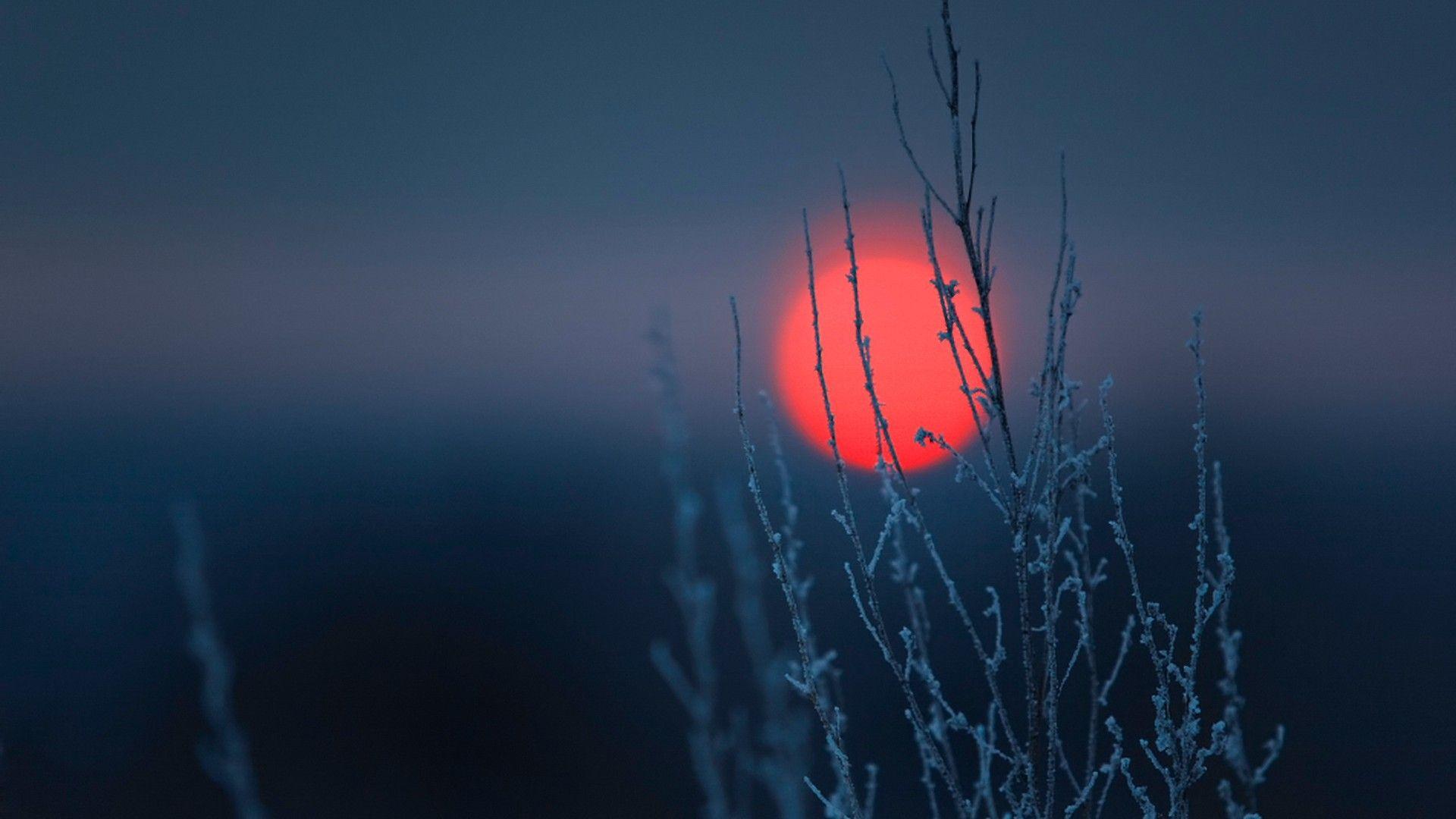 Red Spot On A Dark Background Desktop Wallpapers 1920x1080 Dark Background Wallpaper Sunset Wallpaper Landscape Wallpaper