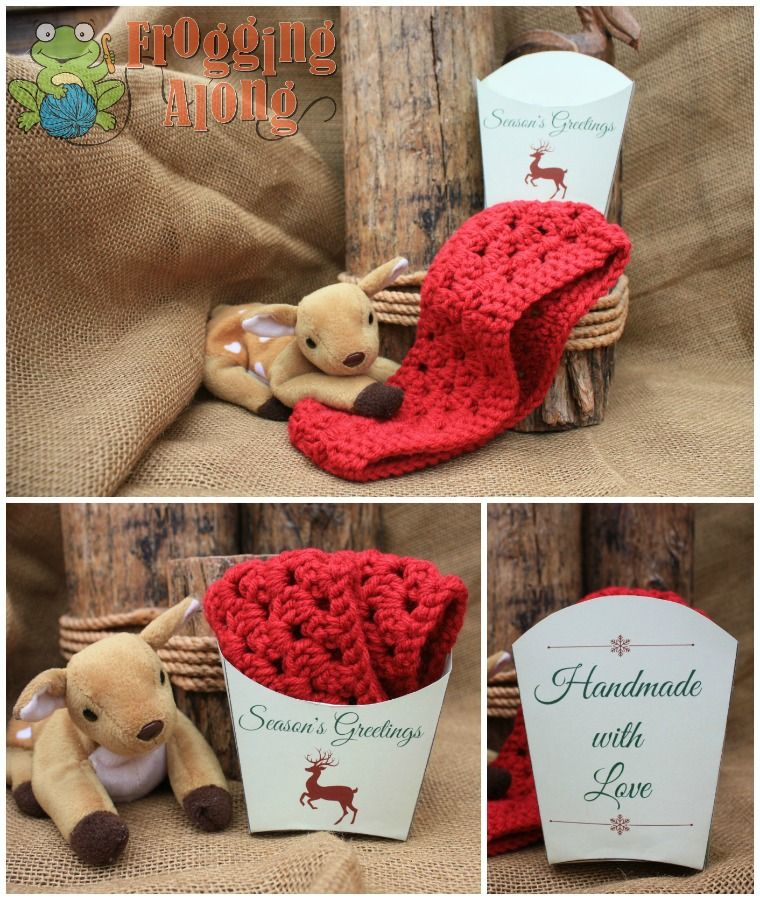 Crochet Labels, Holiday Gift