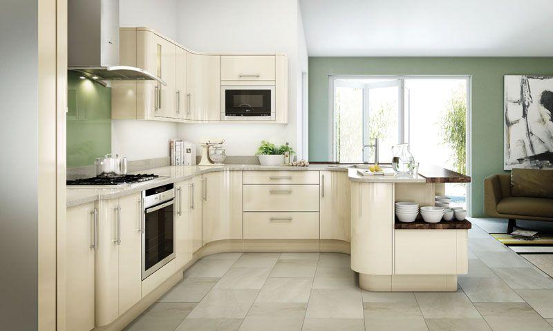 White Gloss Kitchen Units Colors Ideas Schemes Google Search