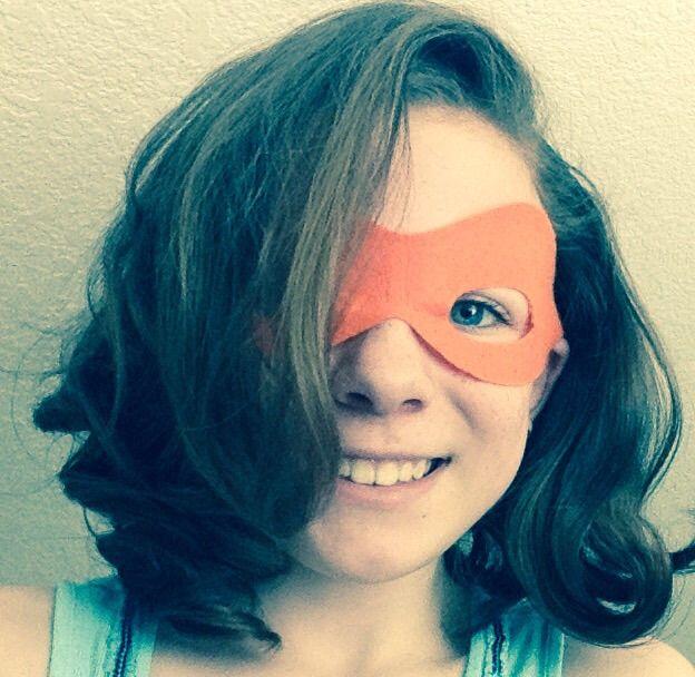 This be me in my turtle mask! Yayayayayya!