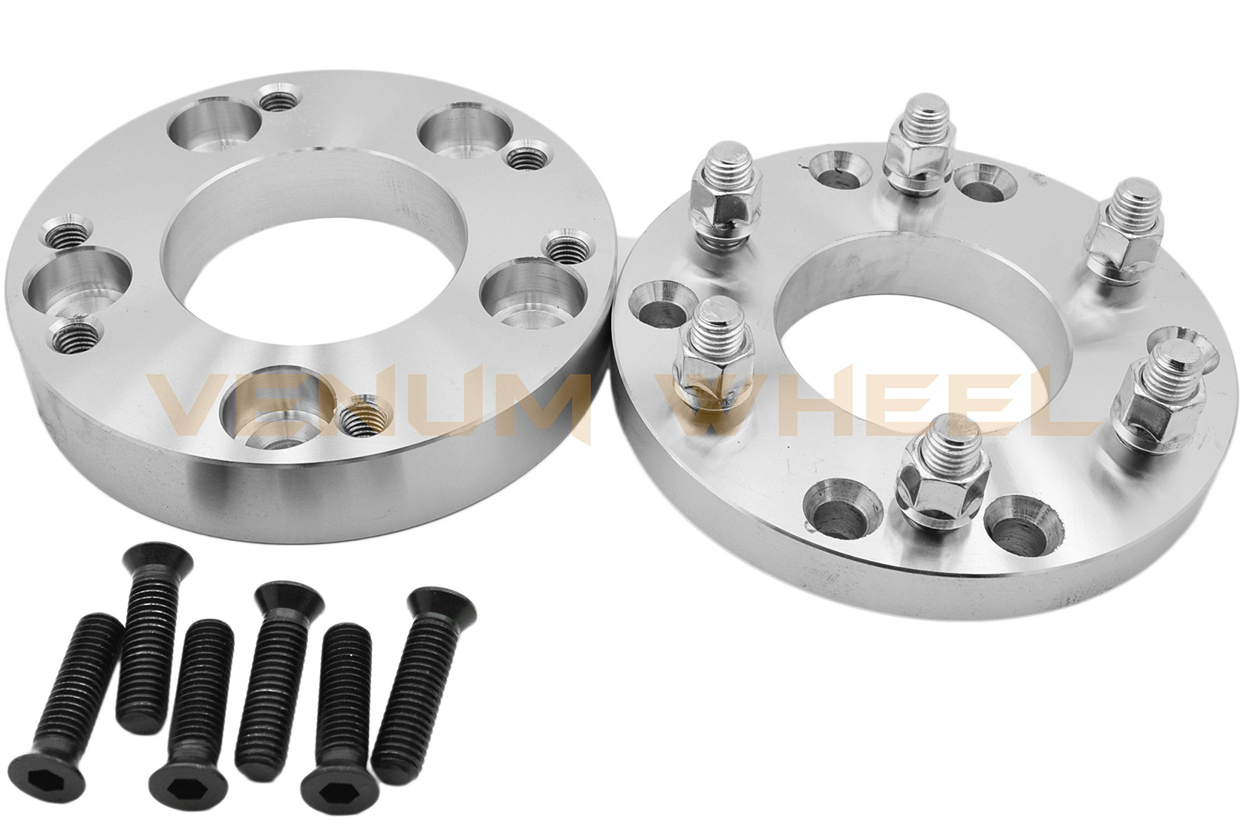 4 Pc 5x5 5 To 6x5 5 5 Lug To 6 Lug Wheel Spacers Adapters Conversion Bolt On 2 Thick 6 Lug Wheels On 5 Lug Trucks 6x5 5 Wheels On 5x5 5 5th Wheels Spacer Wheel