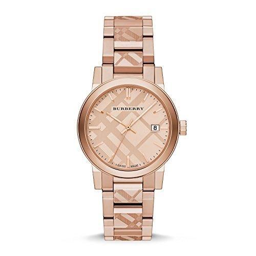 Burberry Rose Gold-Tone Dial Stainless Steel Quartz Ladies Watch BU9039  #love @shoppevero @amazon #want #shoppevero