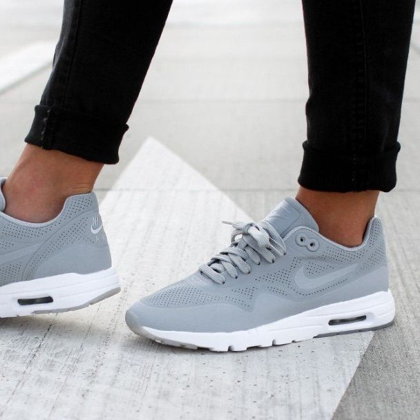 Nike Shoes | Nike Air Max 1 Ultra Moire Wolf Grey Sz 6.5