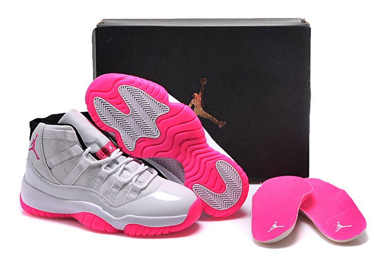 7d9cb959354fb8 Buy White Pink Girls Jordan 11 2015 With Original Box Xmas Deals 2016 from  Reliable White Pink Girls Jordan 11 2015 With Original Box Xmas Deals 2016  ...