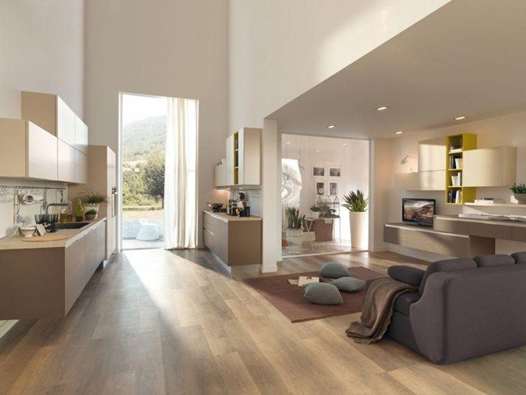 idee peinture interieur salon peinture couleur lin pour la deco zen de votre maison