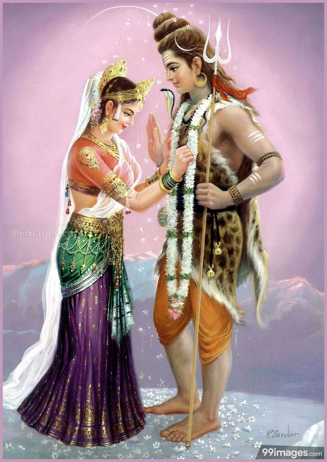 300+ Shiva Parvati HD Images (2021) Love Marriage Pics Free Download | Happy New Year