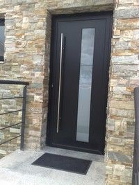 Puerta entrada aluminio barcelona cerca con google - Puertas madera barcelona ...