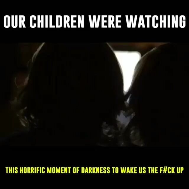 Remember...our children are watching? #liberals #democrats #hypocrite