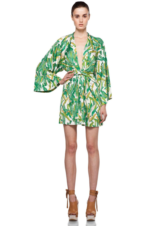 Issa short kimono jackets pinterest kimono jpg 953x1440 Short green kimono a380e6ed0