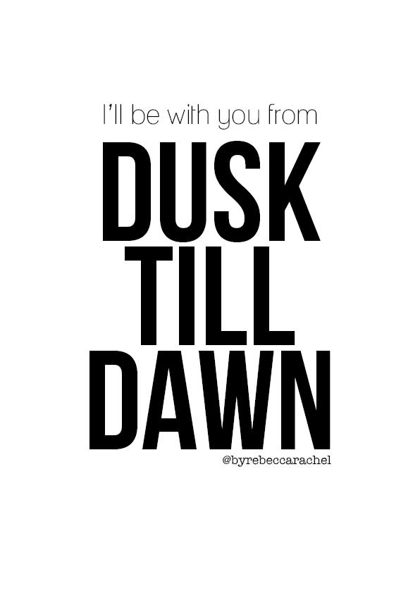 Lyric mini thin breaking down lyrics : I'll be with you from dusk till dawn Lyrics ZAYN ft. Sia - Dusk ...