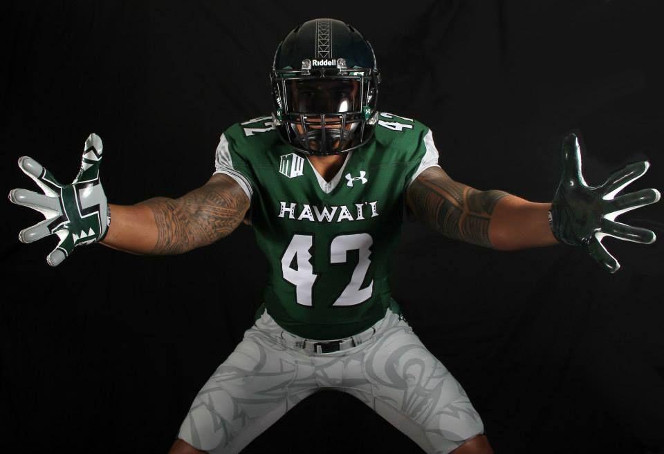 New Hawaii Uniforms Sports Uniforms Football Hawaii Rainbow Warriors