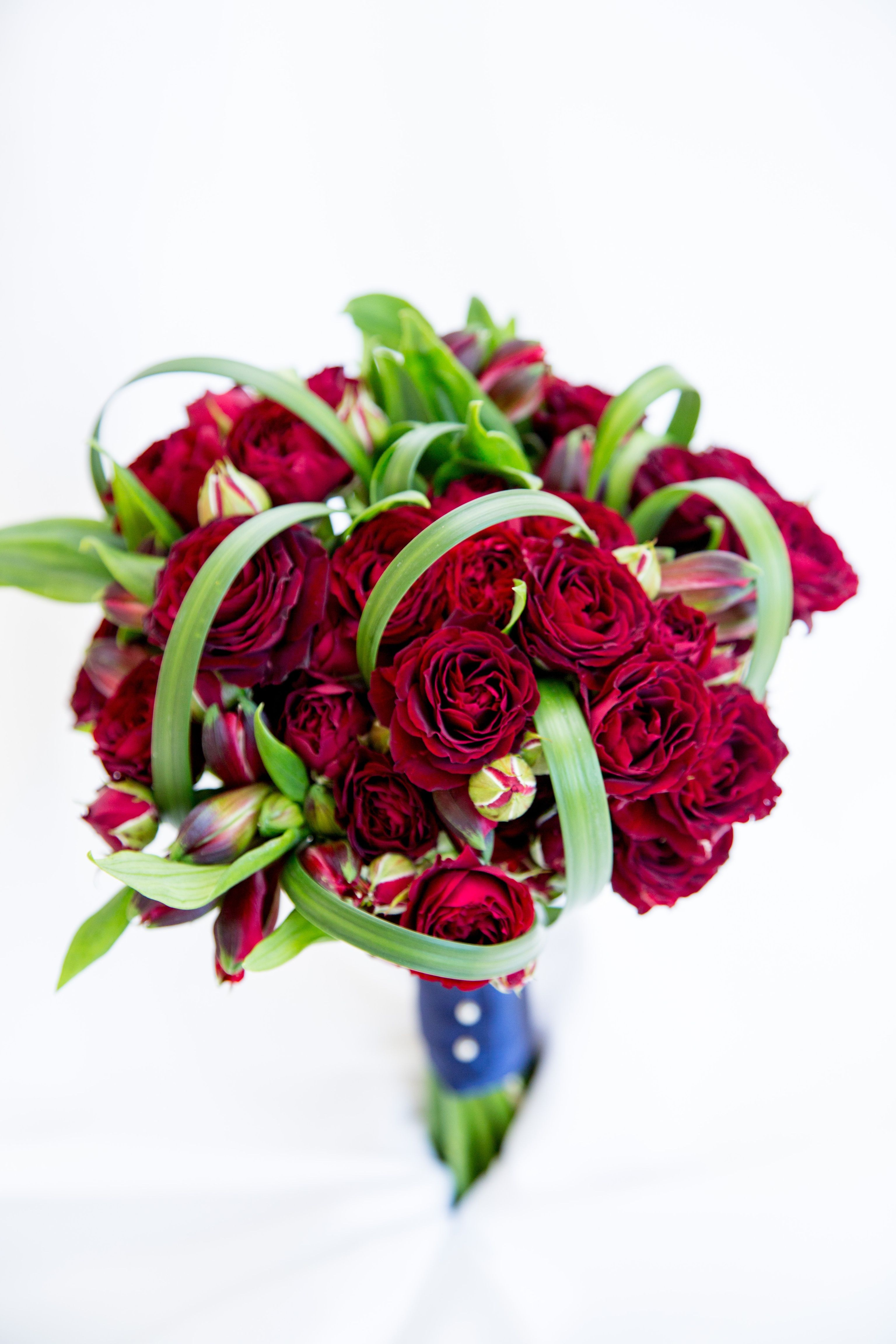Red rose bridal bouquet red spray piano friel rose red red rose bridal bouquet red spray piano friel rose red alstroemeria and lily grass dhlflorist Gallery