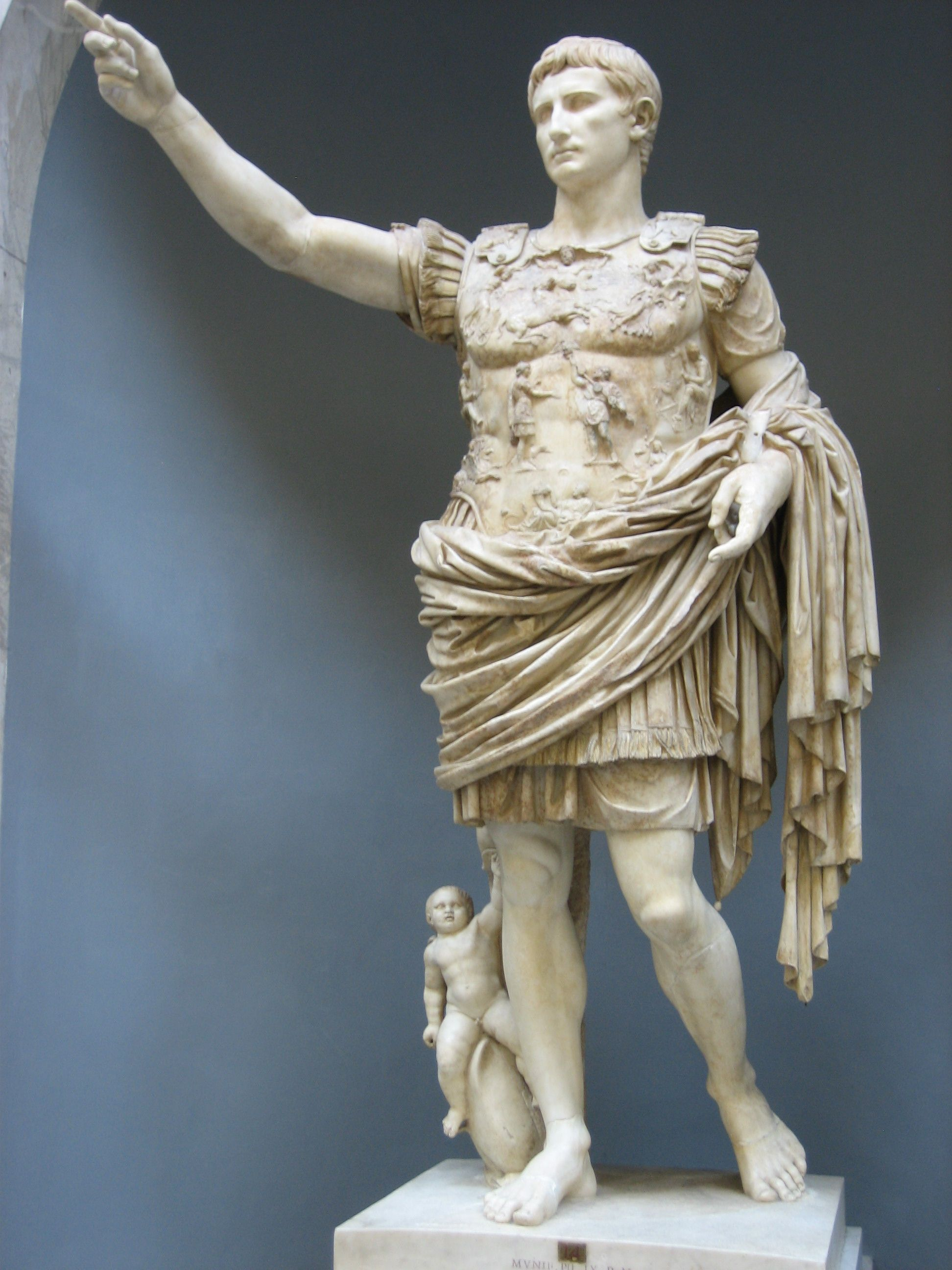 Life of augustus caesar as the first roman emperor