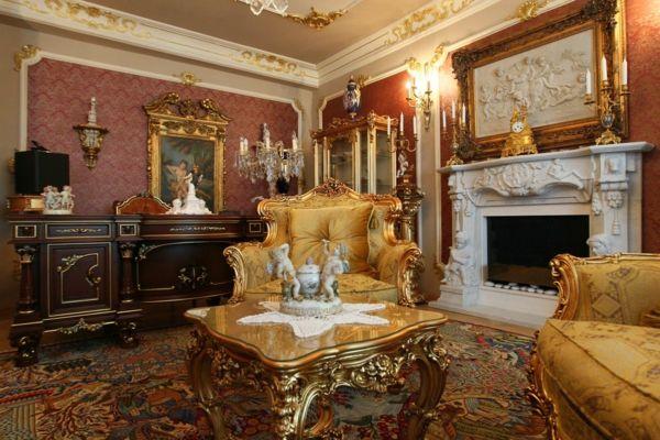 barock stil barock möbel barockeinrichtung | inneneinrichtung ...