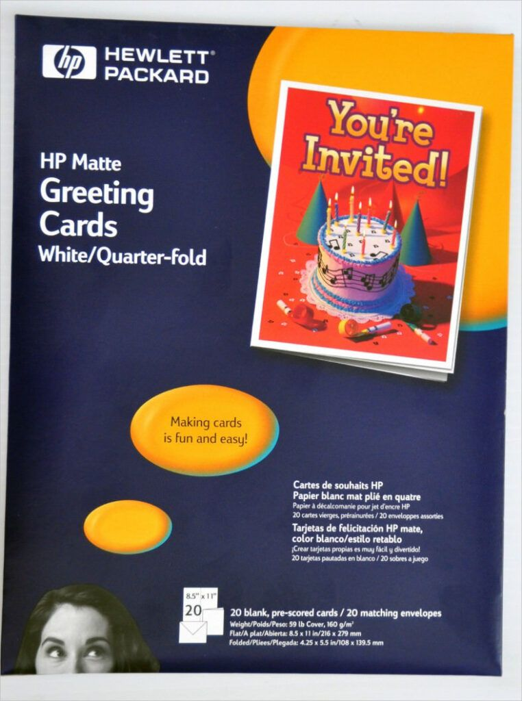 4 Quarter Fold Card Templates Psd Ai Eps Free Intended For Blank Quarter Fold Card Template In 2020 Birthday Card Template Greeting Card Template Card Templates