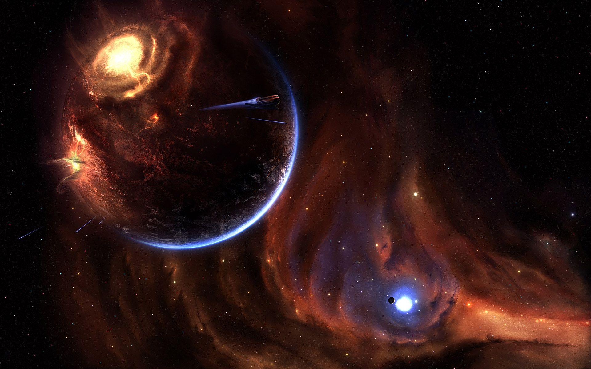 Space Apocalypse HD Wallpaper