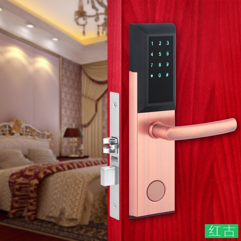 GUJIA Bluetooth Deadbolt Lock Smart Electronic Door Lock