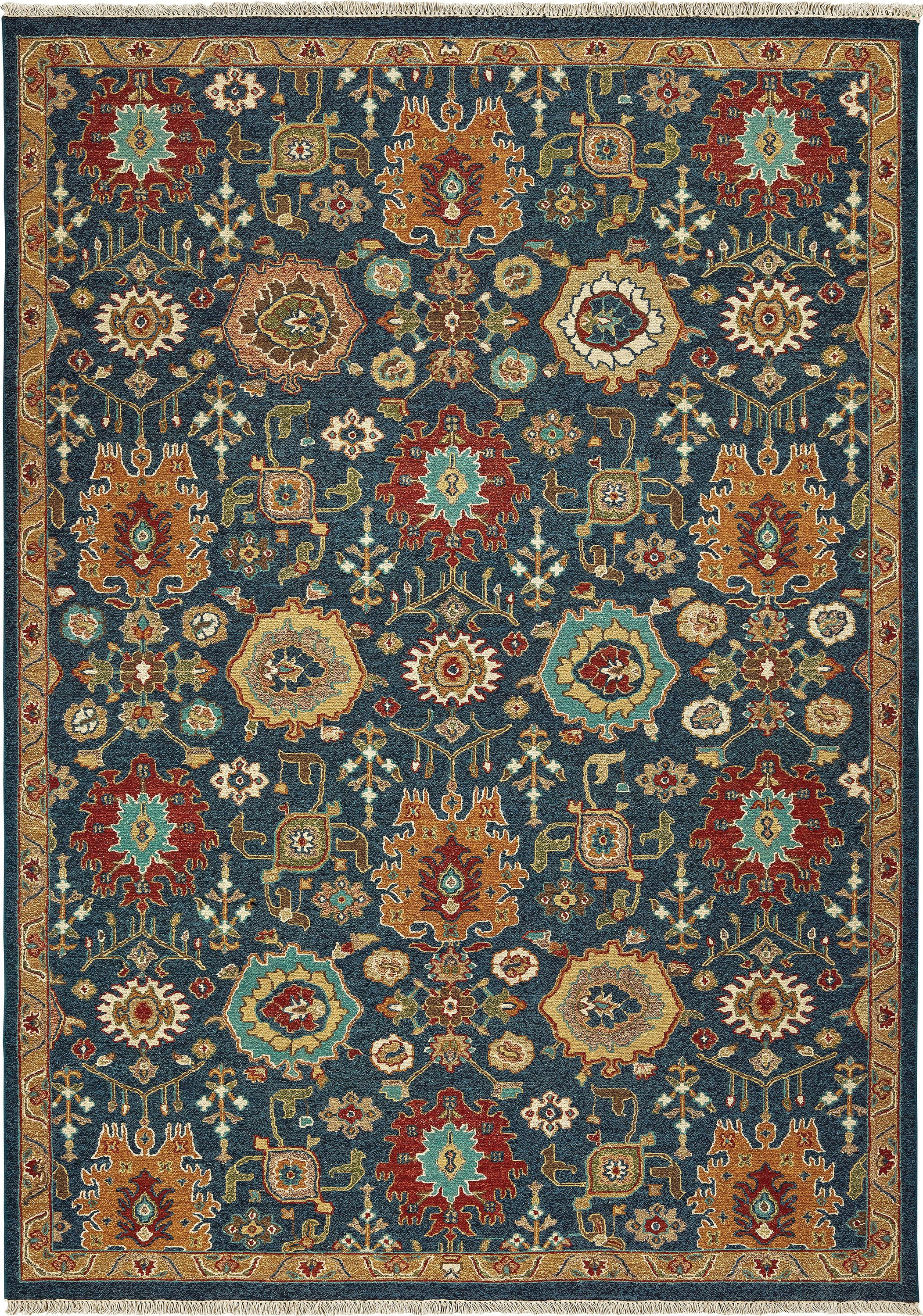 12307 Rug Color Blue Size 2 6 X 10 Tommy Bahama Blue Outdoor Rug Area Rugs