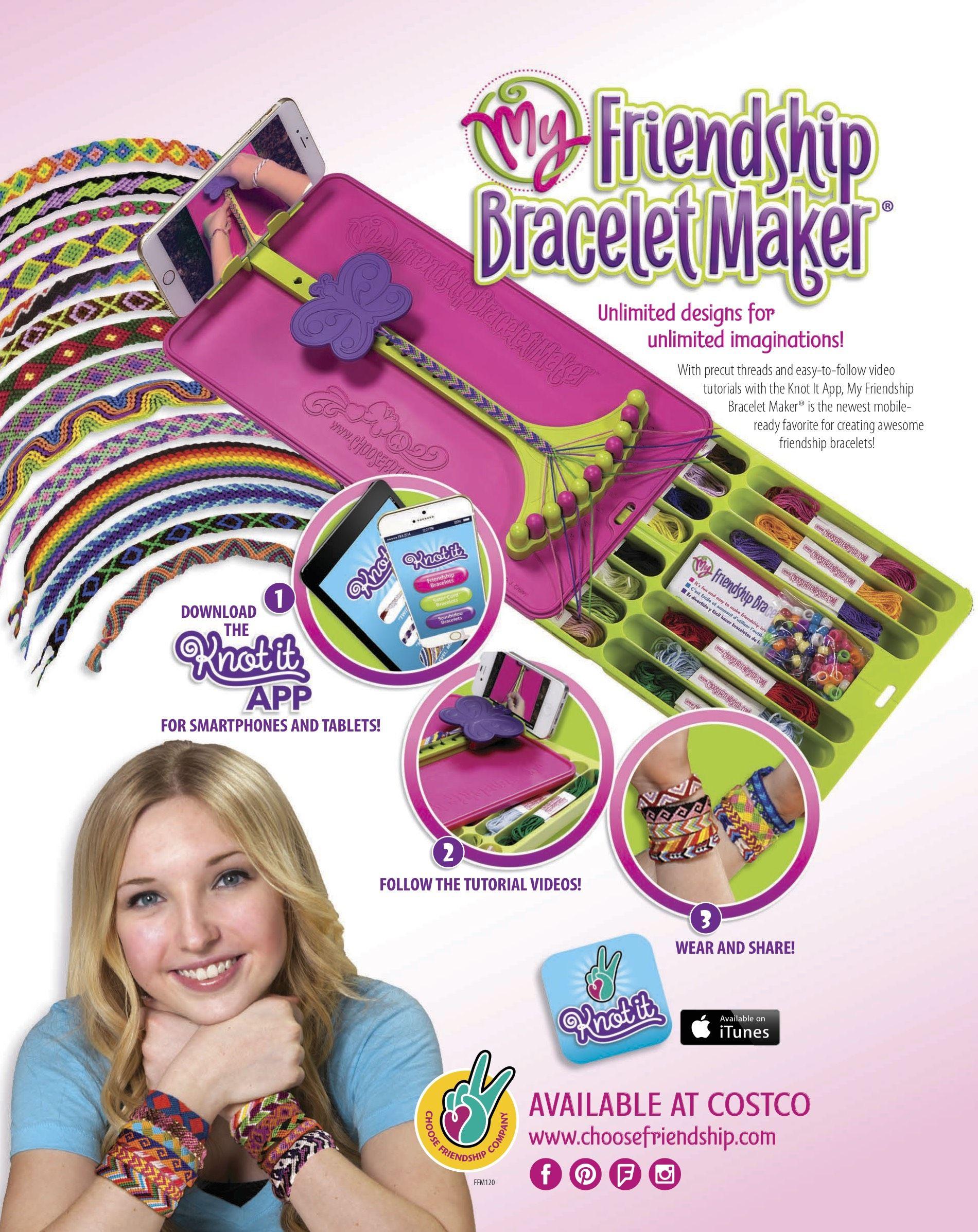 My Friendship Bracelet Maker Traveler Instructions Bracelets
