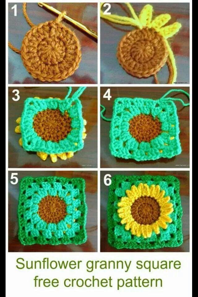 Great idea! | Crochet | Pinterest | Häkeln, Rose und Stricken