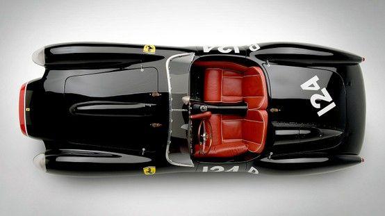FERRARI 250 Testa Rossa Scaglietti 1957 BLACK - 7