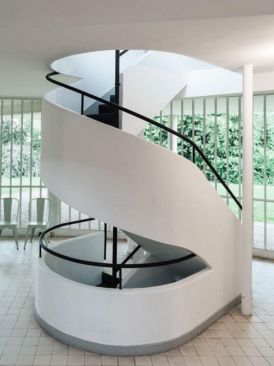 Treppen architektur detail  Stair Detail. Villa Savoye - Cereal | DEVIL IS IN THE DETAILS ...
