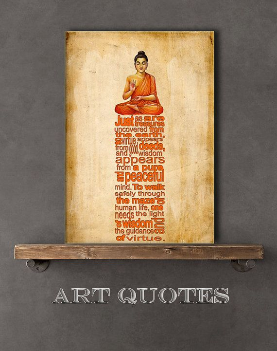 Inspirational & Spiritual Typography Wall Art Print by ARTquotes ...